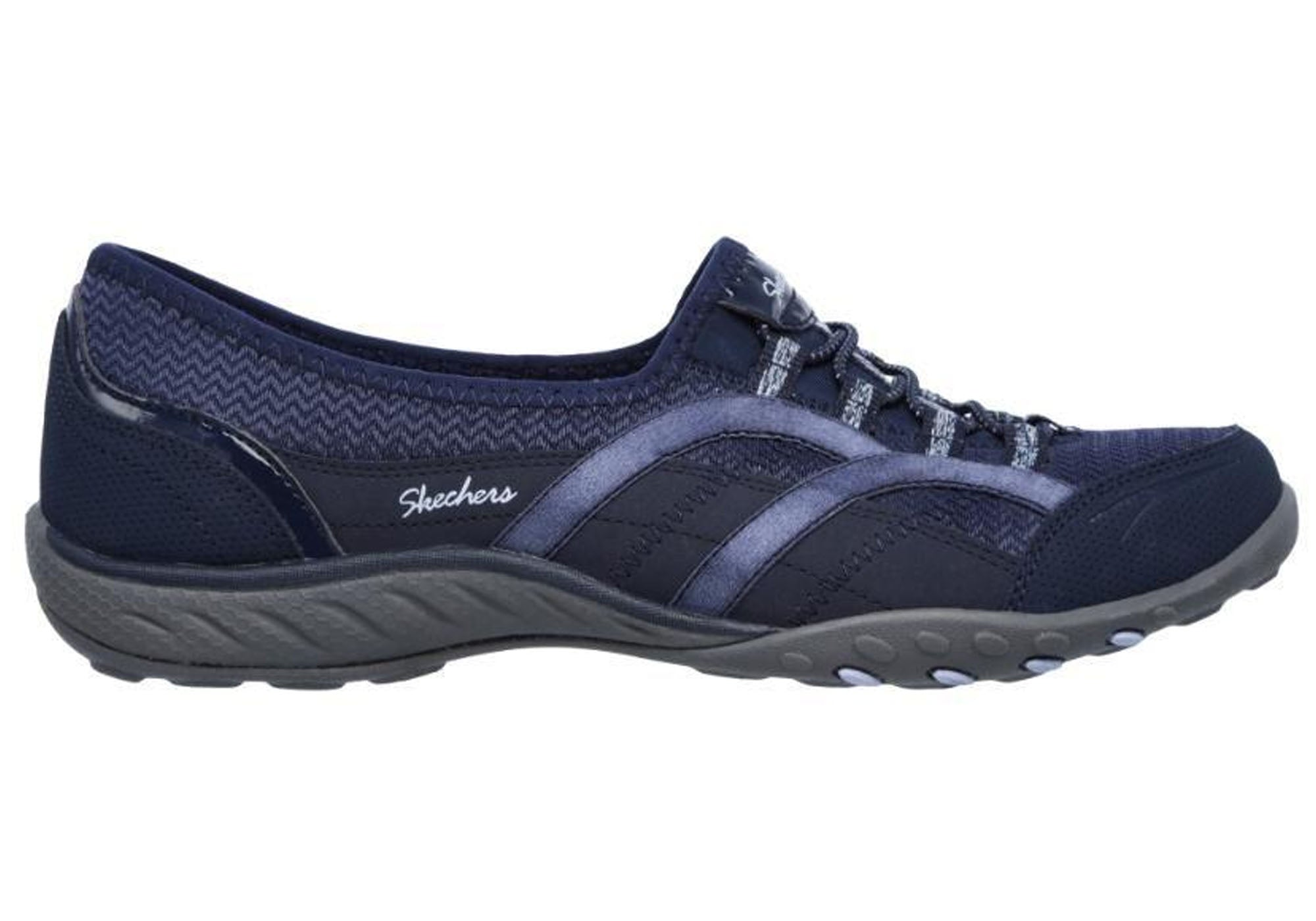 Details about Brand New Skechers Womens Relaxed Fit Breathe Easy Faithful Memory Foam Shoes