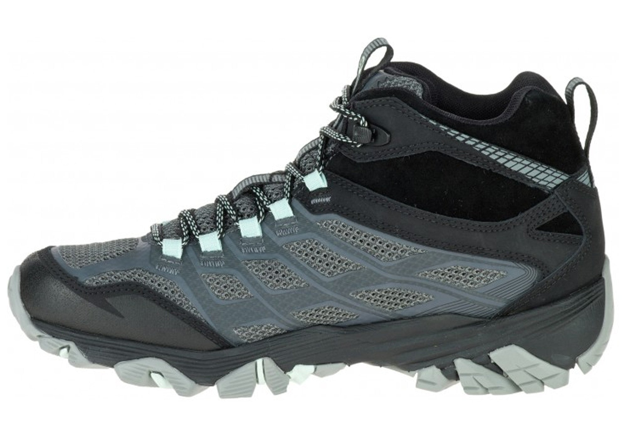 Merrell Moab FST Mid Waterproof Womens Hiking Shoes