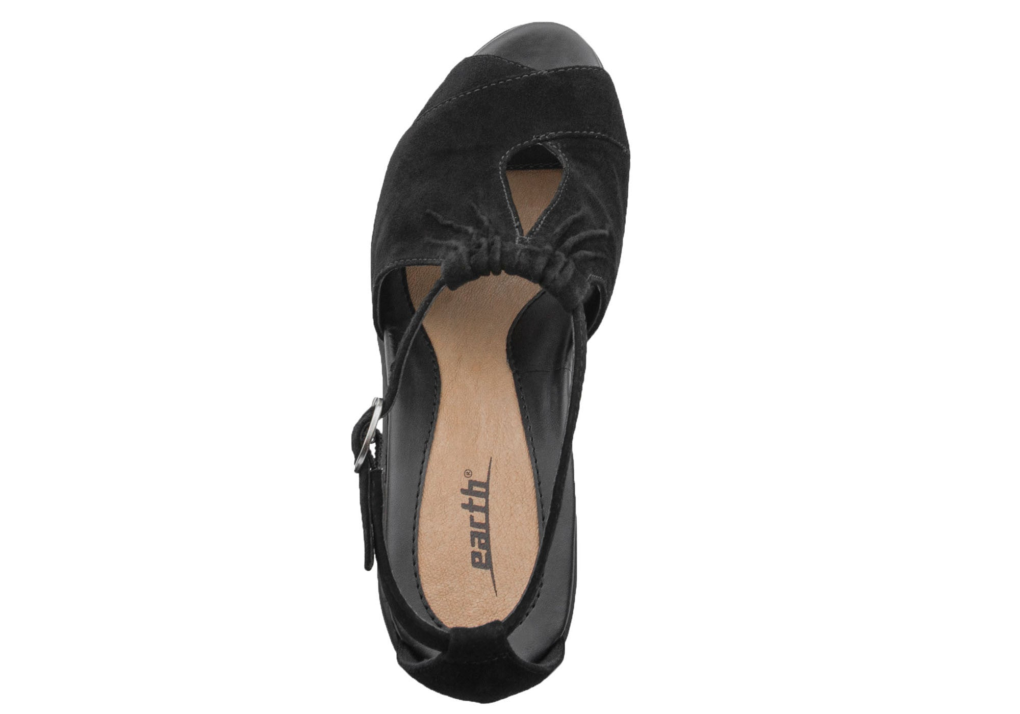 Earth Caper Womens Comfortable Wedge Sandals
