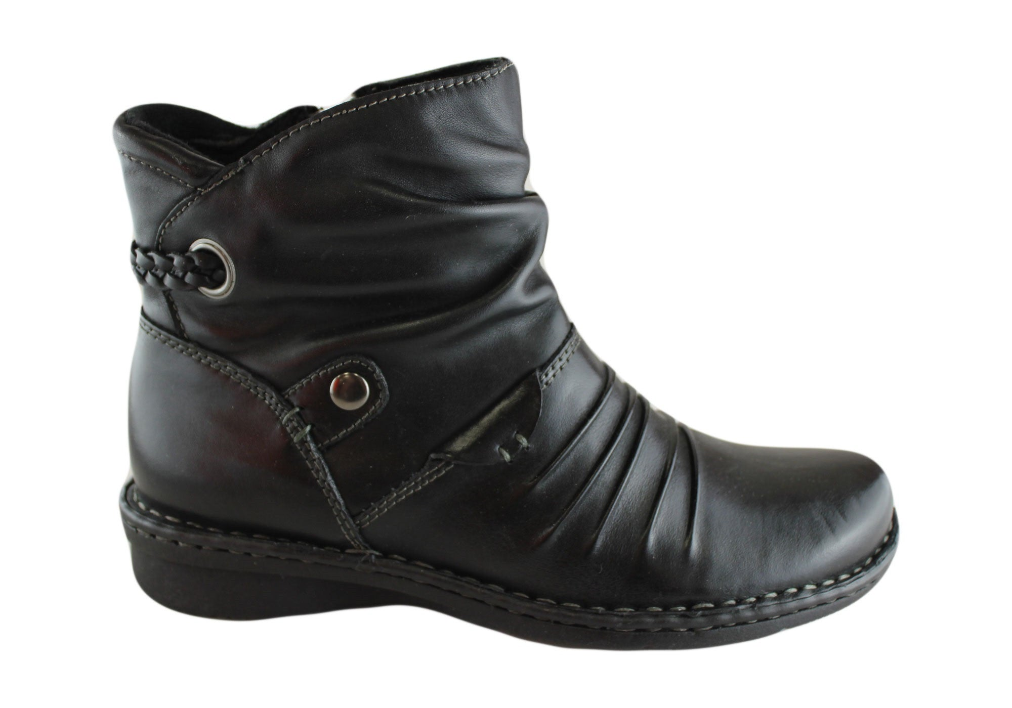 NEW PLANET SHOES MIRA WOMENS LEATHER ANKLE BOOTS | EBay