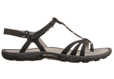 Merrell Enoki Twist Womens Black Sandals