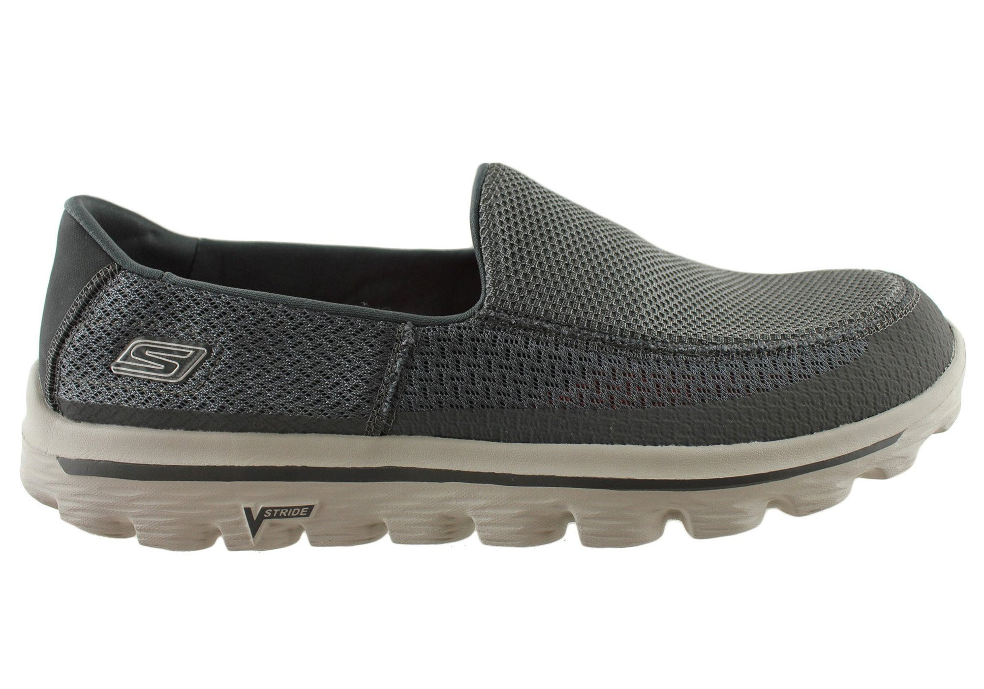 ae31b22aa Details about Skechers Go Walk 2 Mens Comfortable Slip On Casual Shoes