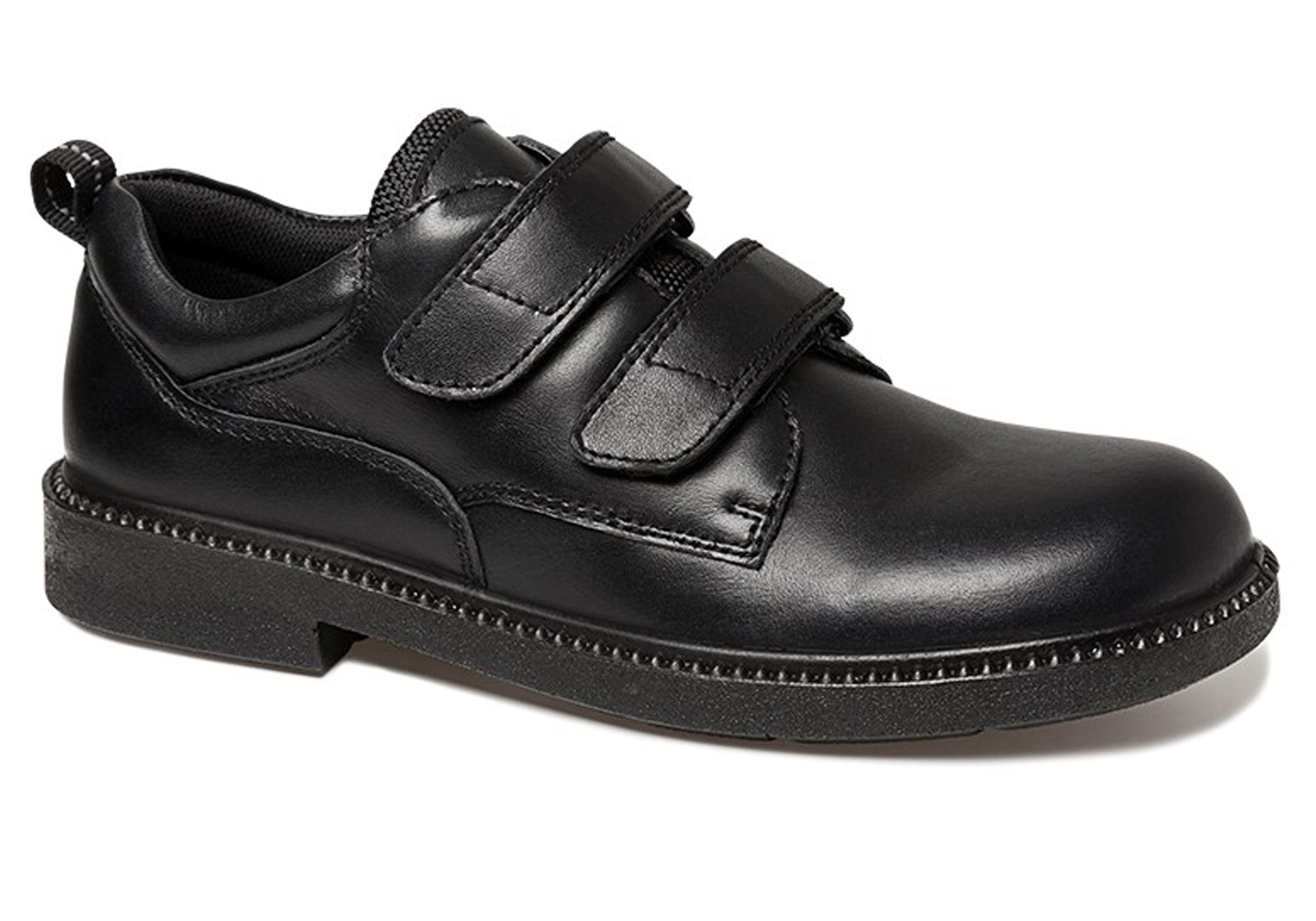 Details about New Clarks Reliance Kids Leather School Shoes With Adjustable  Straps c55e7ed89