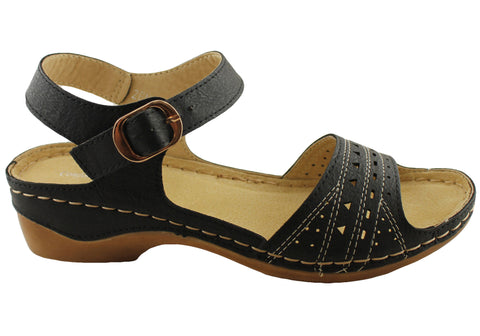 Comfort Leisure Zena Womens Comfort Sandals