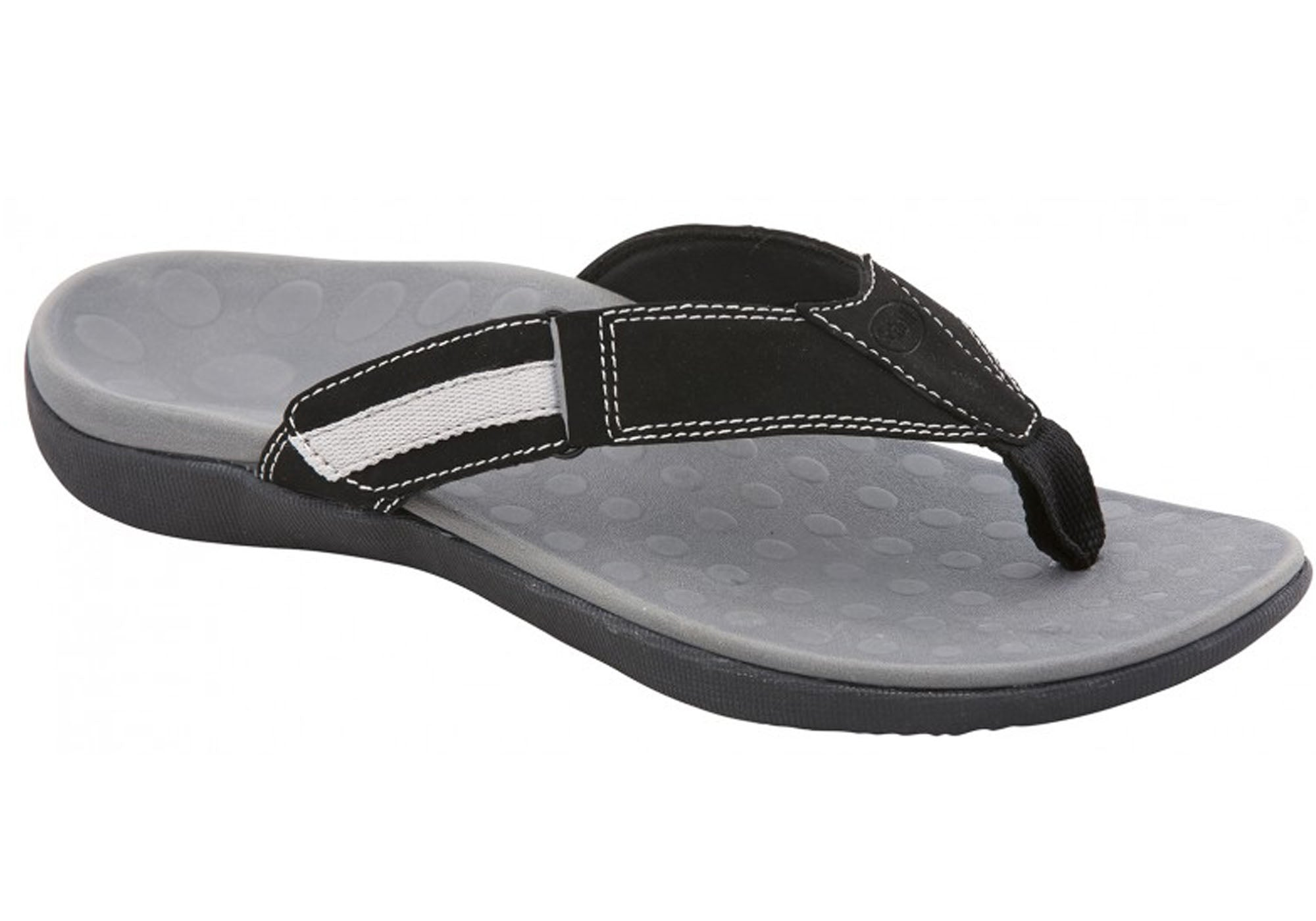 96e75be595f Scholl Orthaheel Ryder II Mens Comfort Orthotic Thongs With Support ...