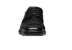 Hush Puppies Huon Mens Leather Extra Wide Fit Shoes