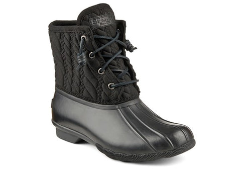 Sperry Womens Saltwater Rope Embos Neo Boots