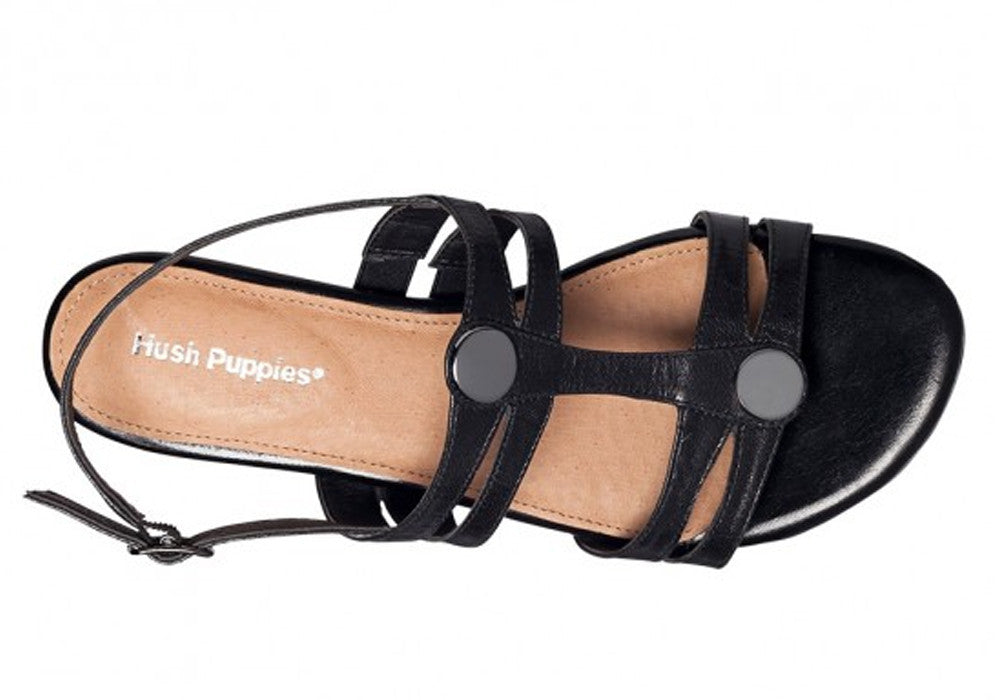 Hush Puppies Fedora Womens Leather Sandals