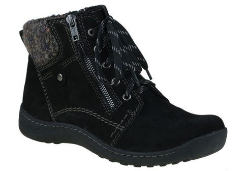 Planet Shoes Tannin Womens Comfort Suede Ankle Boots