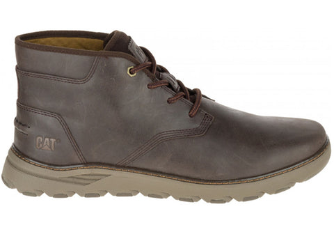 Caterpillar Reyes Mens Comfortable Leather Wide Fit Lace Up Boots