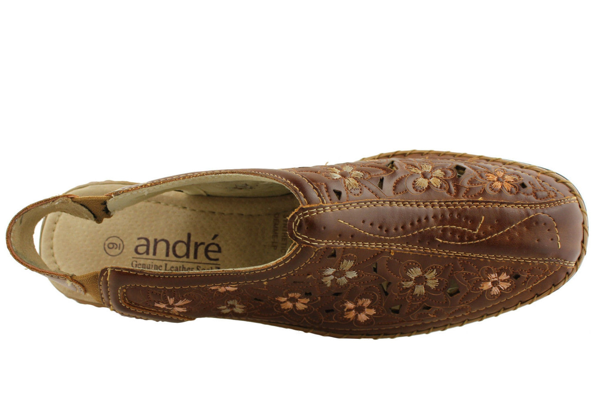 Andre Demme Womens Comfortable Closed Toe Shoes