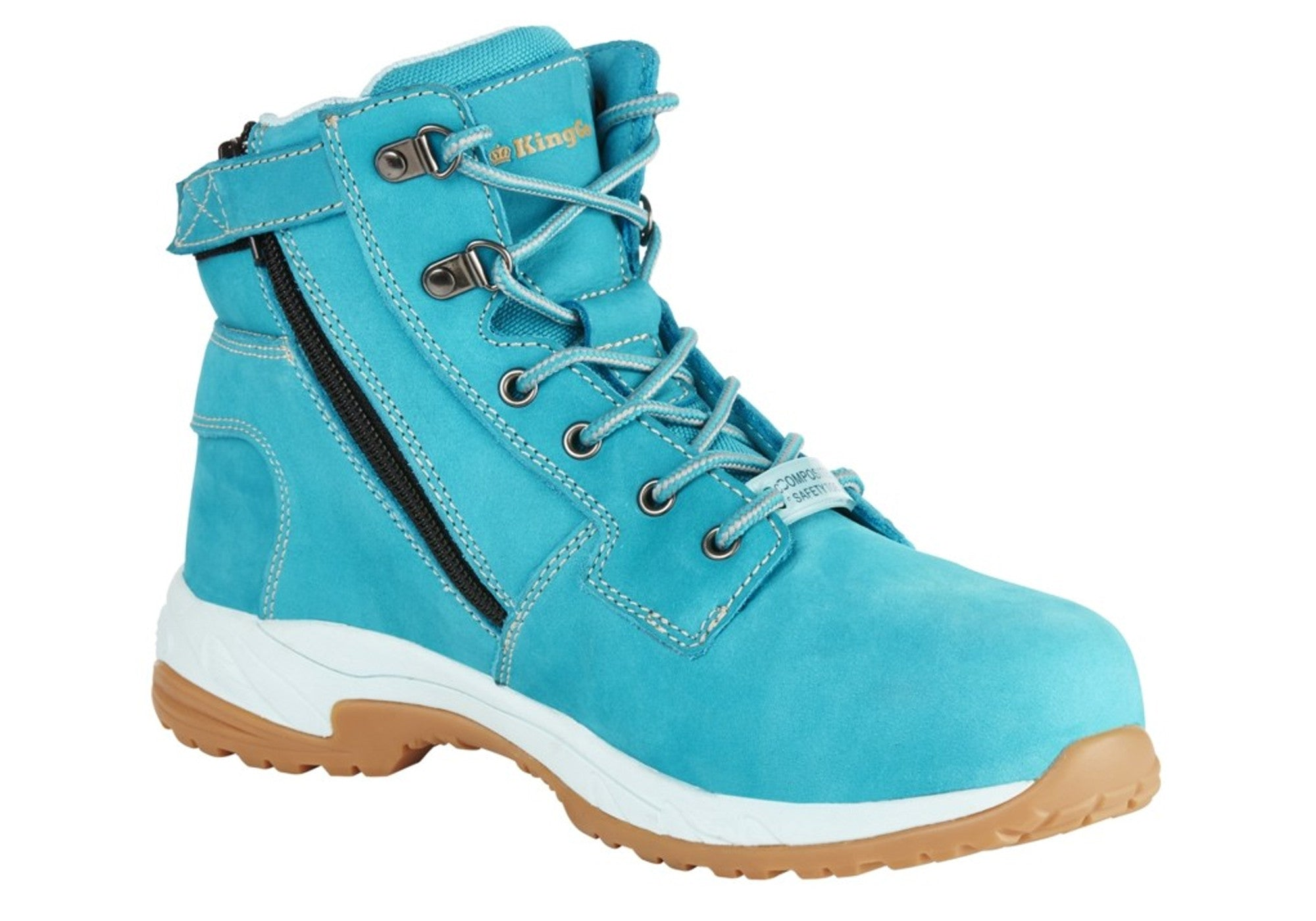 King Gee Womens Tradie Zip Work Boots