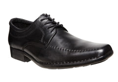 Hush Puppies Manor Mens Leather Shoes Extra Wide Fit