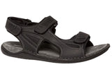 Hush Puppies Weapon Mens Leather Sandals
