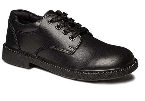 Clarks Reward Kids Black Leather School Shoes
