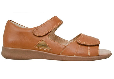 Scholl Orthaheel Fizz Womens Closed Back Supportive Leather Sandals