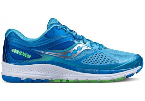 Saucony Guide 10 Womens Premium Wide Fit Sport Shoes