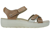 Planet Shoes Moro Womens Comfortable Leather Supportive Wedge Sandals