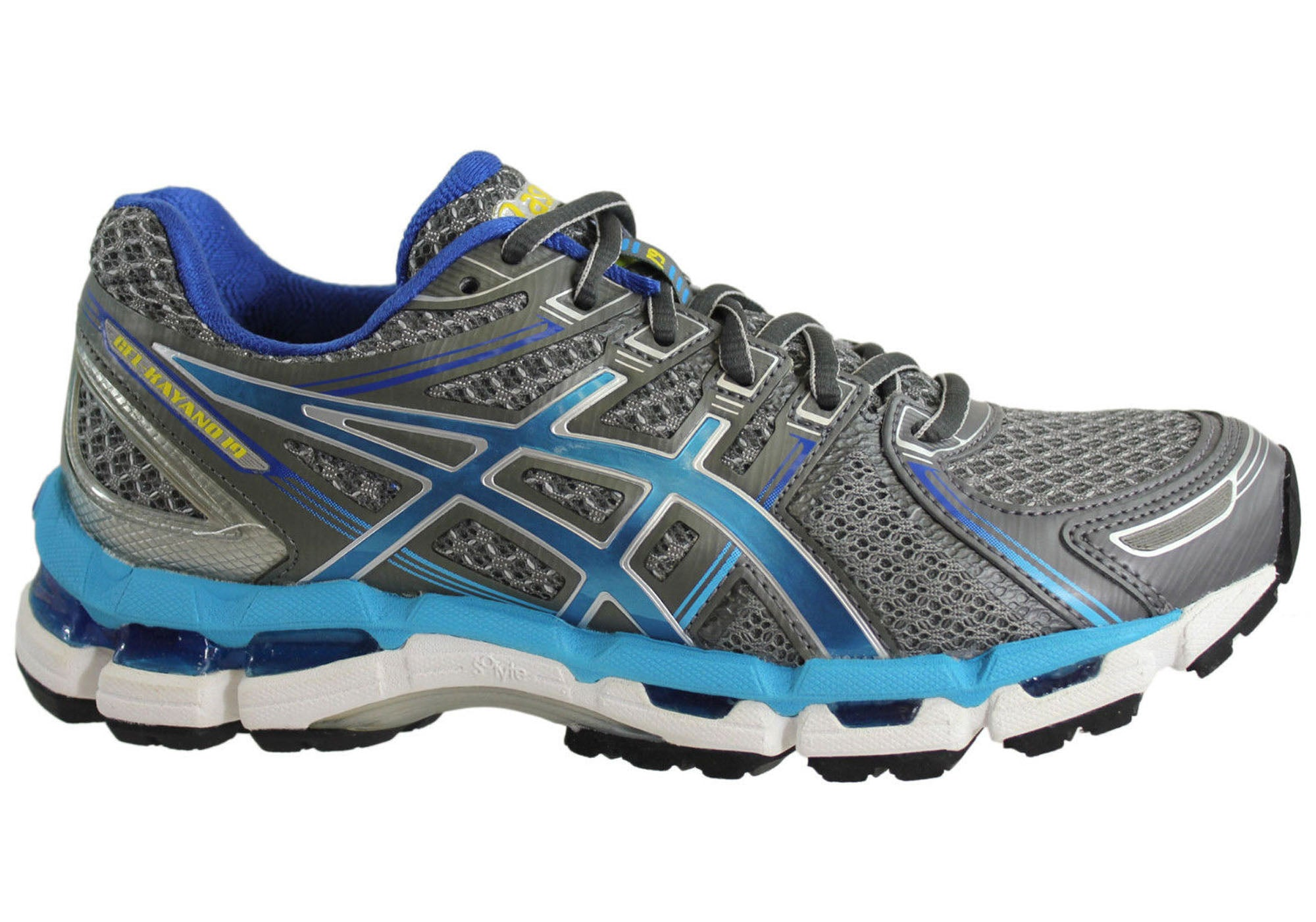 385f50725992 Home Asics Gel Kayano 19 Womens Premium Cushioned Sport Running Shoes.  Lightning Turquoise  ...