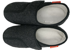 Archline Mens Orthotic Slippers Plus Closed Toe Comfort Slippers
