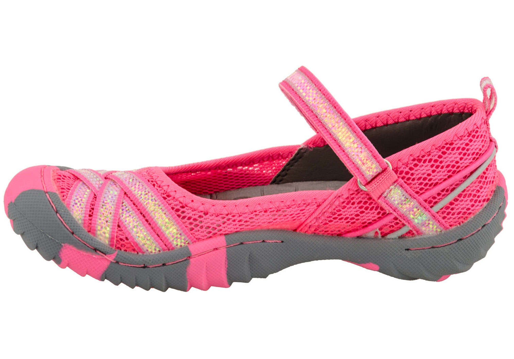 Jambu Boa 3 Kids/Girls Comfortable Mary Jane Shoes