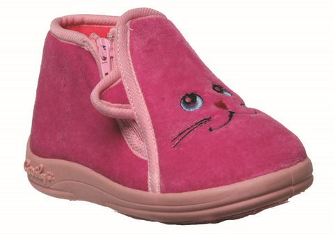 Grosby Meow Girls Indoor Slippers