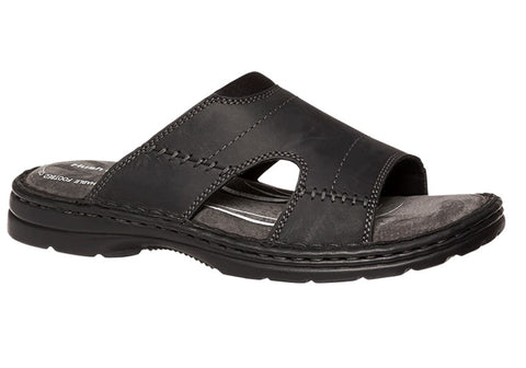 Hush Puppies Slip Mens Comfortable Leather Sandals