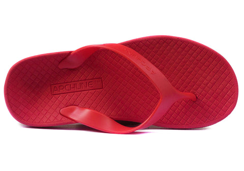 Archline Womens Comfortable Supportive Orthotic Flip Flops Thongs