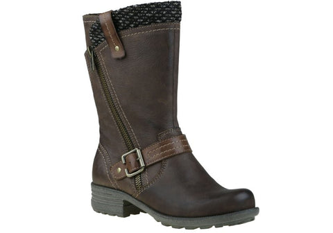 Planet Shoes Pugg Womens Leather Mid Calf Boots