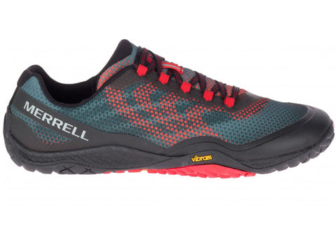 Merrell Mens Trail Glove 4 Shield Lightweight Barefoot Running Shoes