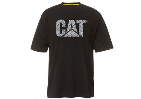 Caterpillar Mens Comfortable Custom Logo Tee