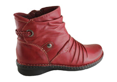 Planet Shoes Mira Womens Leather Ankle Boots
