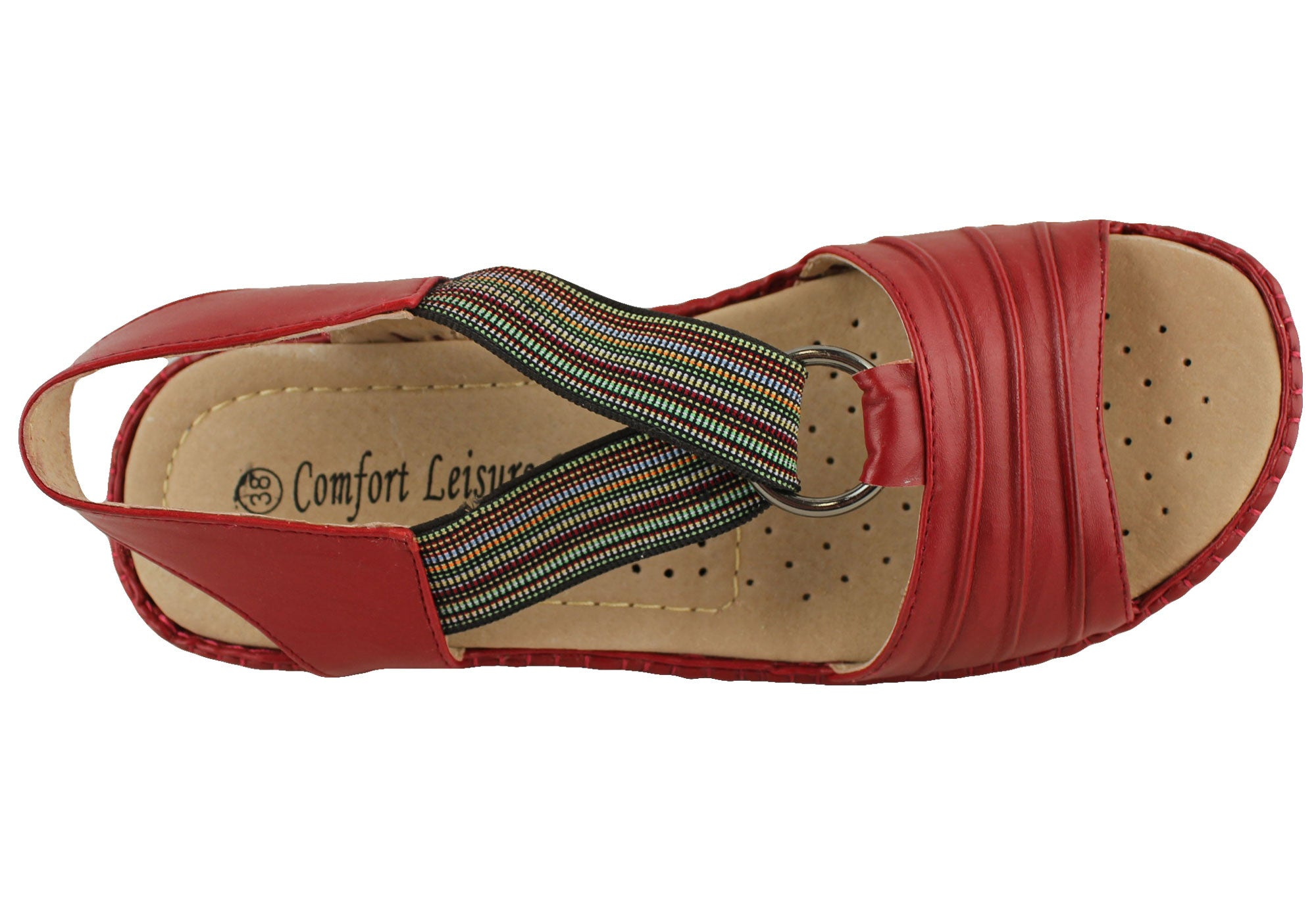 Comfort Leisure Paula Womens Comfort Sandals