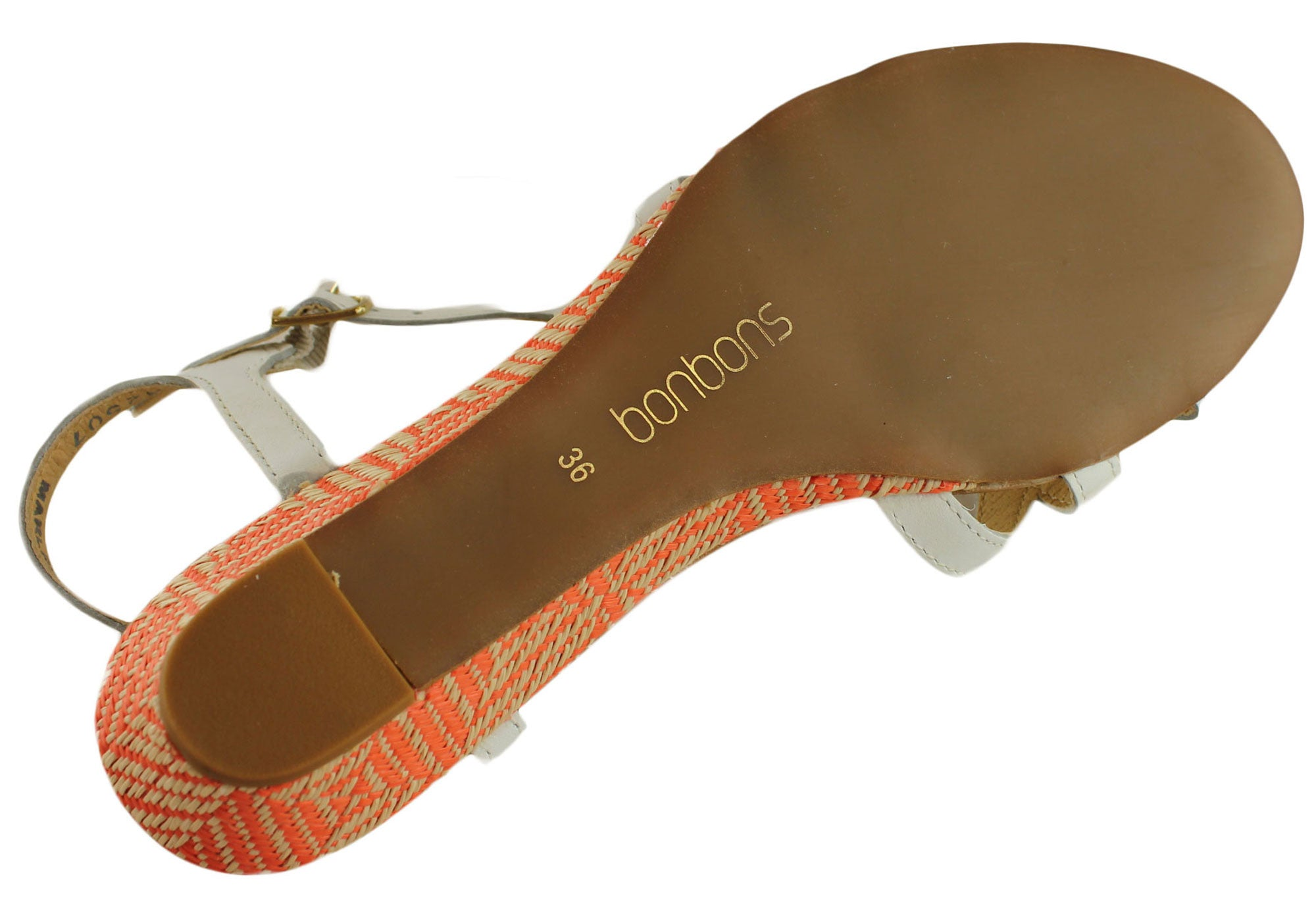 Bonbons Marlee Womens Leather Sandals