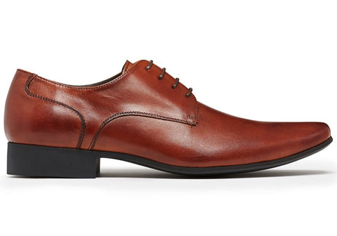 Julius Marlow Grand Mens Leather Lace Up Dress Shoes