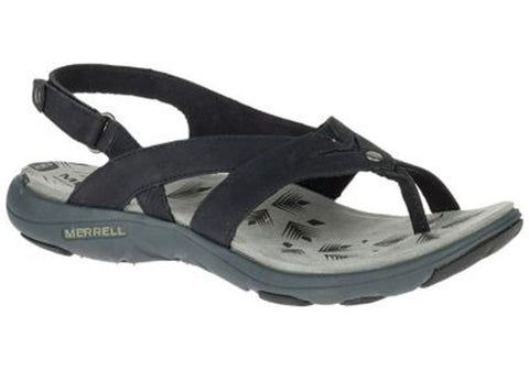 Merrell Womens Comfort Flat Supportive Adhera Post Sandals