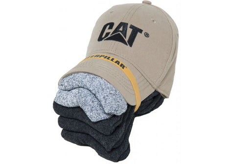 Caterpillar CAT Mens Versatile Hat & Sock Combo