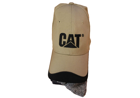 Caterpillar Mens Hat & Sock Combo