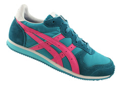 Asics Corrido Womens Lace Up Retro Sneakers