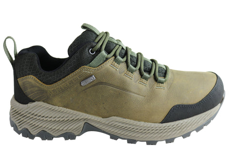 Merrell Mens Forestbound Waterproof Comfortable Hiking Shoes
