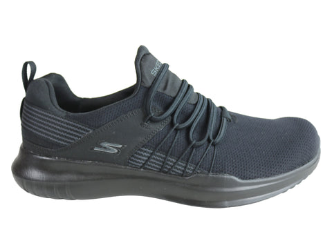 Skechers Mens Go Run Mojo Reactivate Cushioned Trainers Athletic Shoes