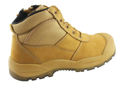 Hard Yakka Mens Utility Steel Toe Safety Boots