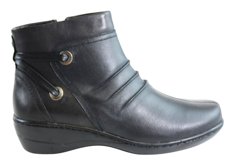 Natural Comfort Jodie Womens Comfortable Leather Ankle Boots