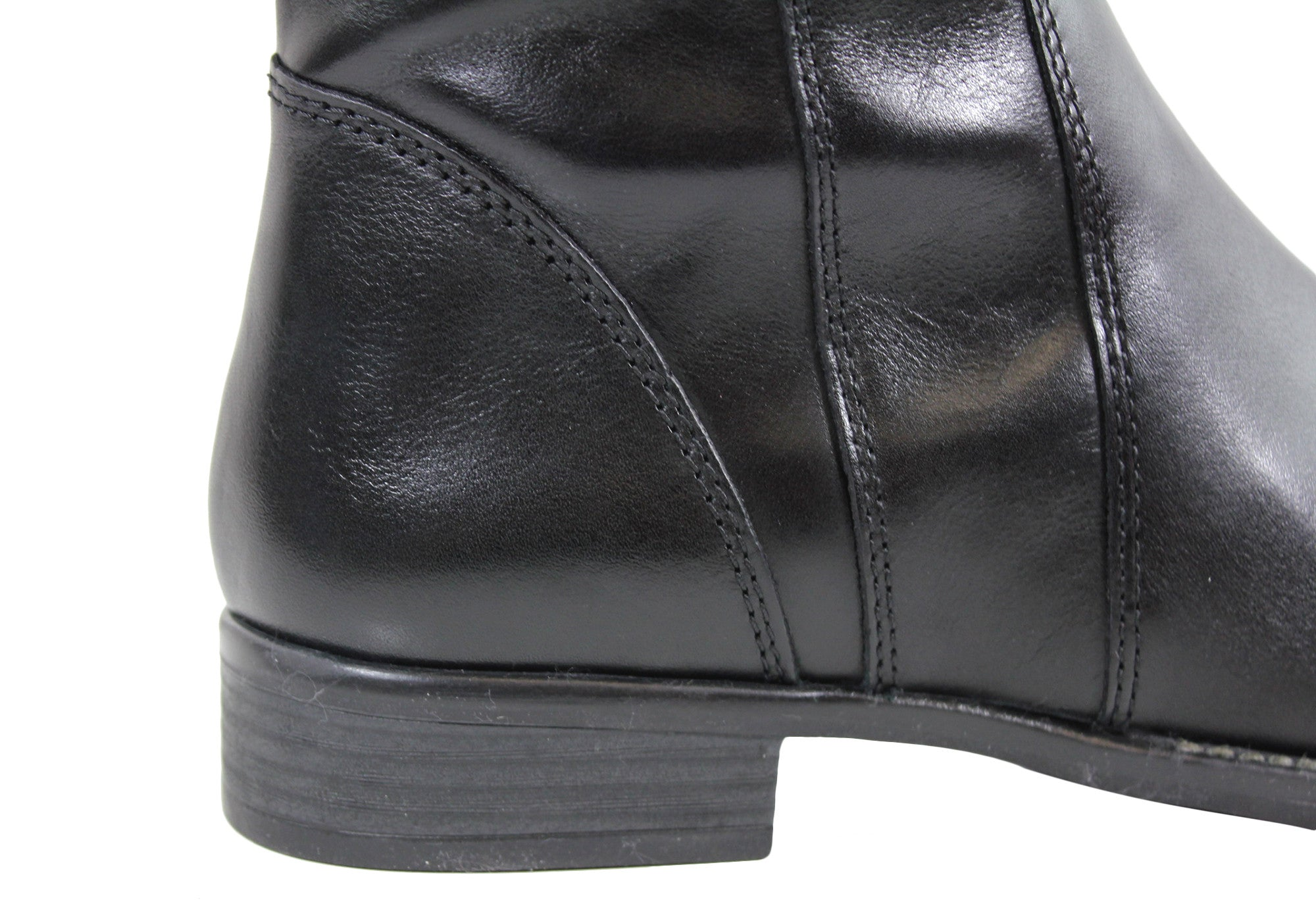 Gino Ventori Eagle Womens Leather Knee High Boots