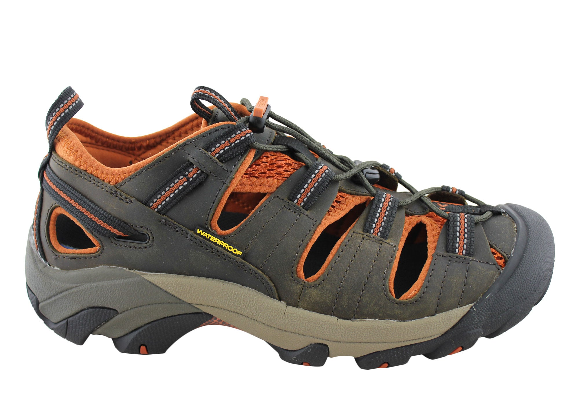 14e1295fdd18 Keen Arroyo II Mens Trail Waterproof Wide Fit Shoes