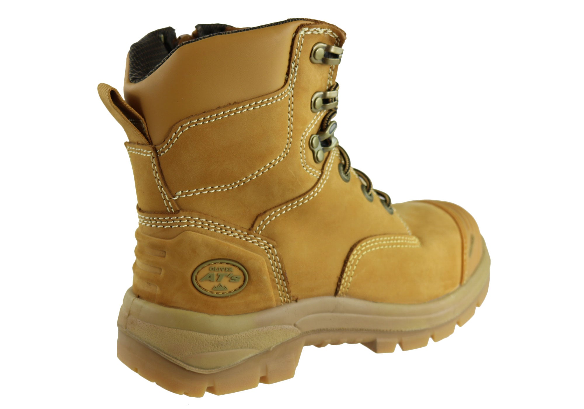 06b0ca5c61f Details about Oliver At 55332Z Lace Up Zip Side Steel Cap Work Boots Mens -  WorkWearZone