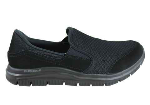 Skechers Womens Cozard Comfortable Slip Resistant Work Shoes