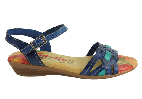 Cabello Comfort 2027 Womens Leather Sandals Made In Spain