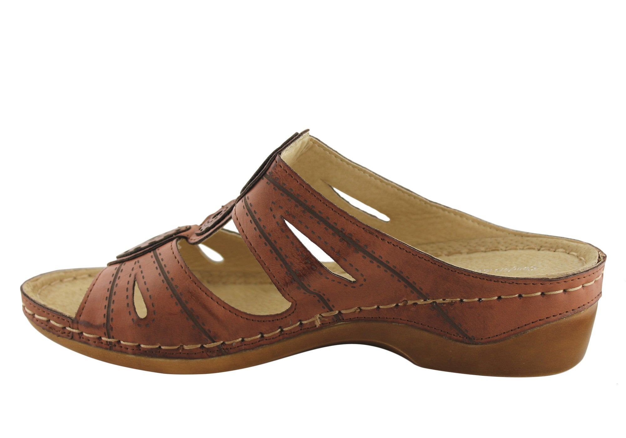 Comfort Leisure Ziva Womens Comfort Sandals