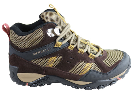 Merrell Womens Kayenta Mid Waterproof Comfortable Hiking Shoes